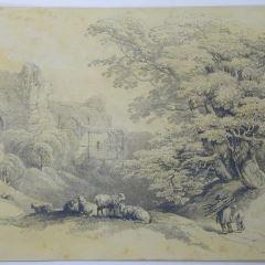 Castillo en ruinas (Inglaterra)