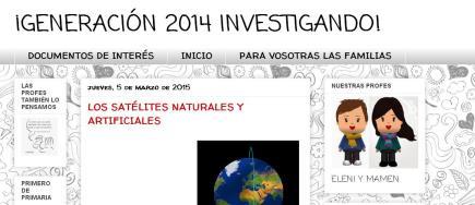 GENERACIÓN 2014 INVESTIGANDO