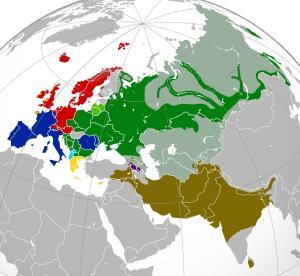 Europa. Lenguas Indoeuropeas