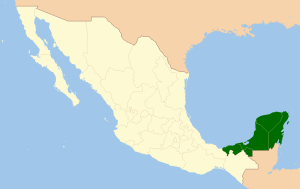 Region Sureste de Mexico