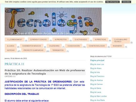 Blog de mis cohetes-alumnos con Tecnología de 1º ESO