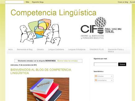 """Competencia Lingüística CIFE """"Ángel Sanz Briz"""" Teruel"""