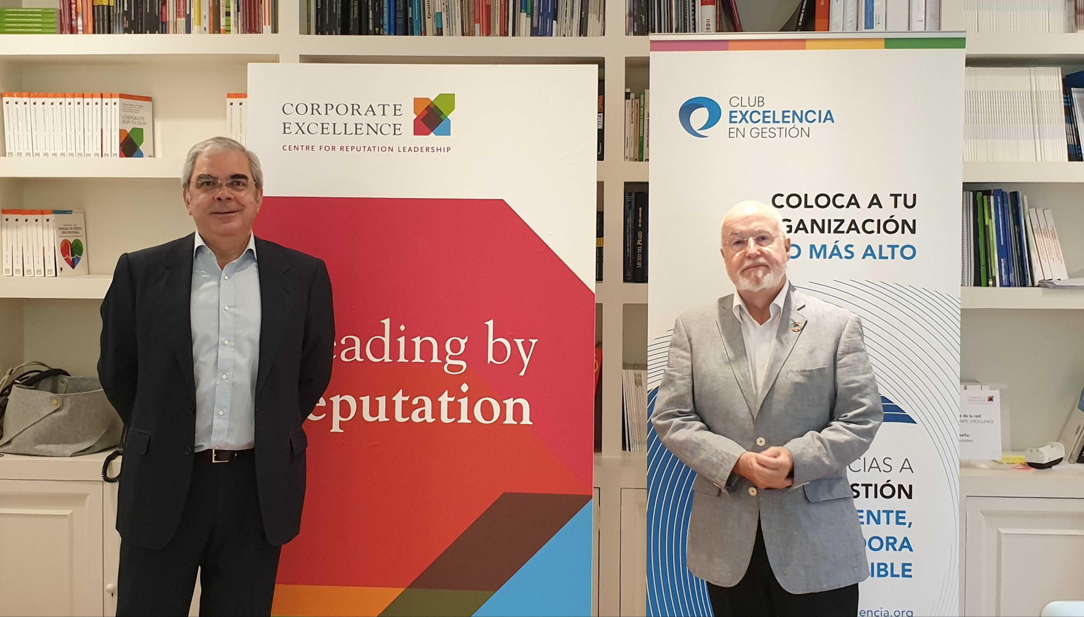 Corporate Excellence – Centre for Reputation Leadership y el Club Excelencia en Gestión firman un acuerdo de colaboración