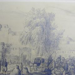 Puerta de Bab Azoun en Argel (Argelia)