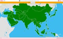 Länder Asiens
