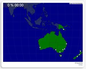 Australie et Nouvelle Zélande : les villes. Seterra