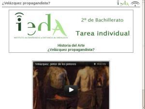 ¿Velázquez propagandista?