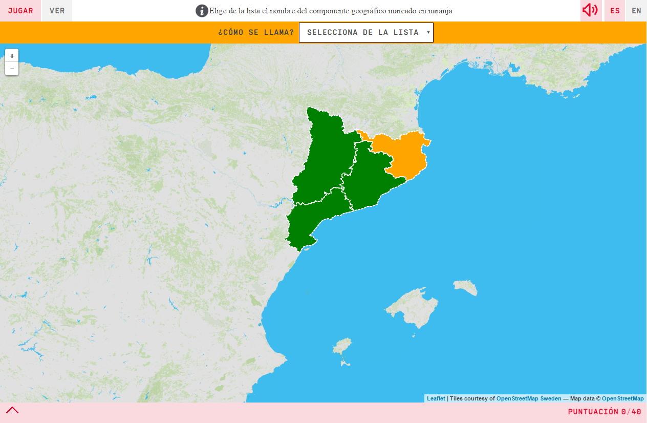 Provincias de Cataluña