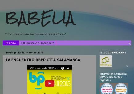 BABELIA (cada lengua es un modo distinto de ver la vida)