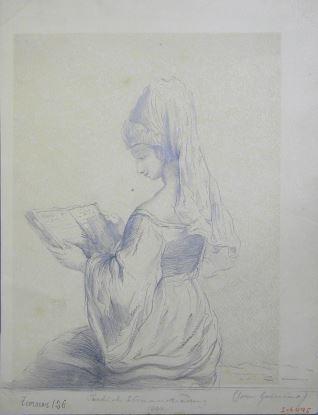 Mujer turca leyendo