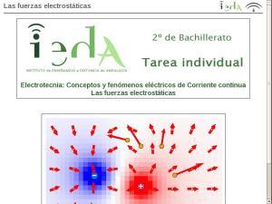 Las fuerzas electrostáticas