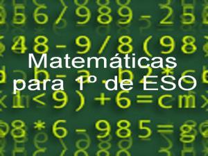 Matemáticas 1º de ESO
