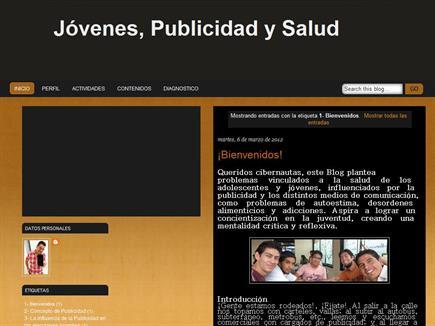 Jóvenes, Publicidad y Salud