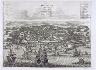 Vista de Alejandría, Egipto
