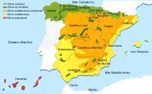Agua y clima de España y de Europa