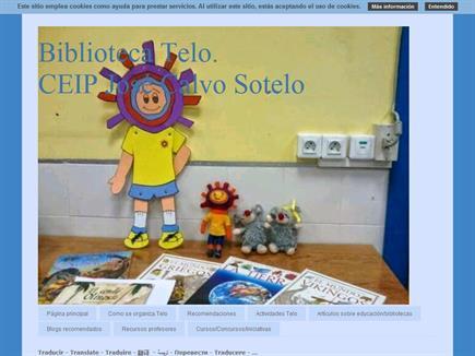 Biblioteca Telo. CEIP José Calvo Sotelo