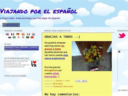 Viajando por el español