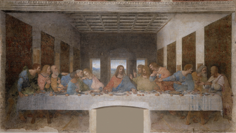 La última cena, 1495-1498