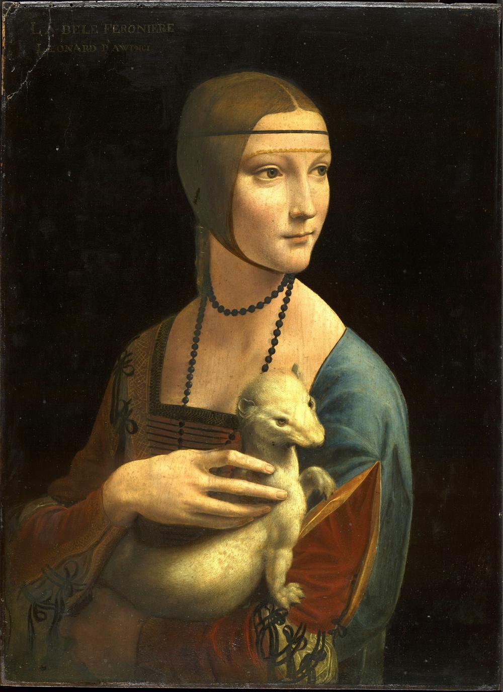La dama del armiño, 1490