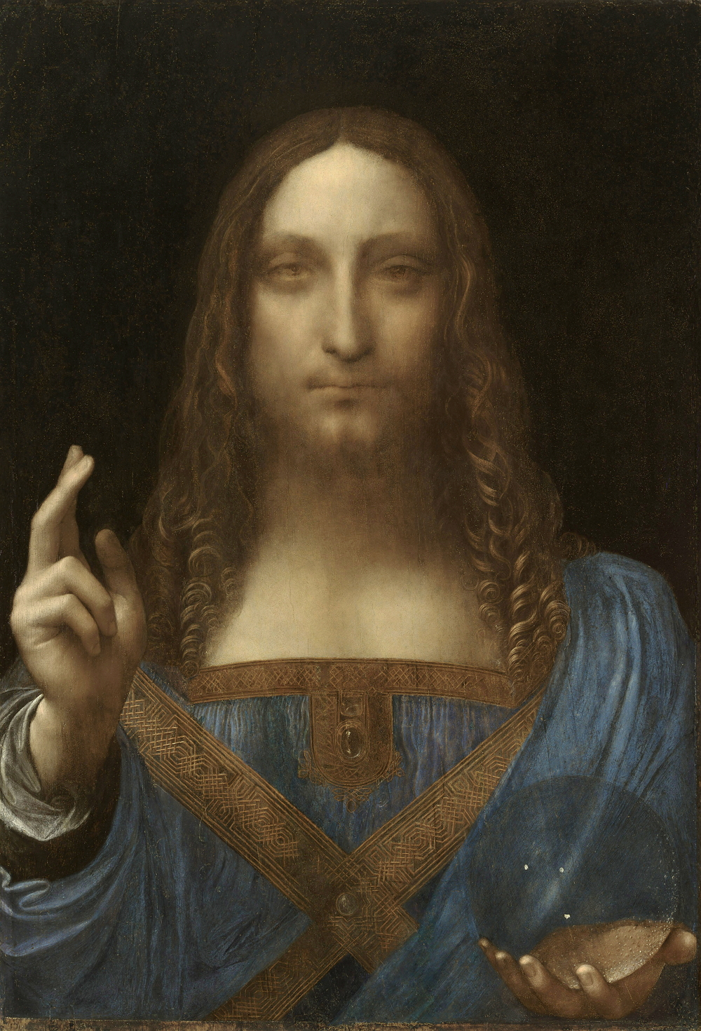 Salvator Mundi, 1500, la pintura más cara de la historia
