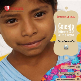 Colegio Número 50 de Fe y Alegría. Chiquimula (Guatemala)