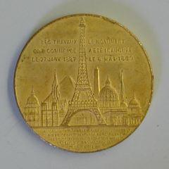 Medalla conmemorativa de la Torre Eiffel