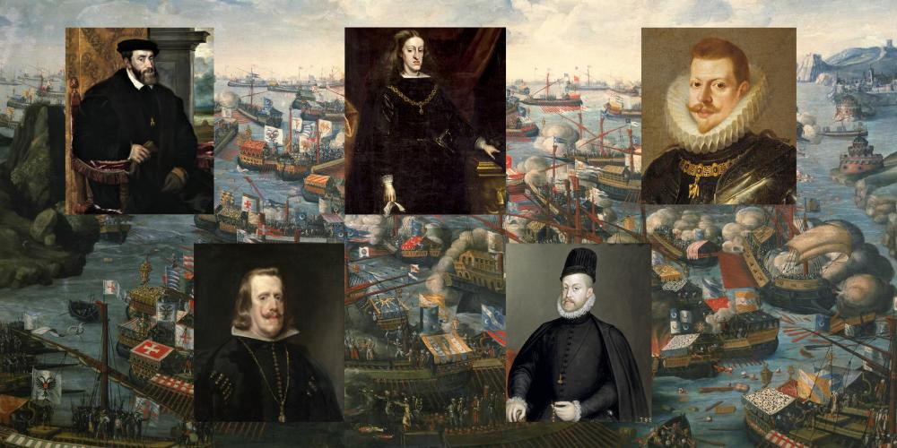 Dinastia dels Àustries: monarques