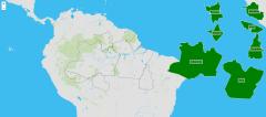 Estados da região norte de Brasil