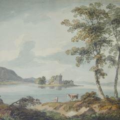 Castillo del lago Leven (Escocia)