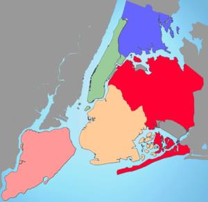 Boroughs of New York city. Sporcle