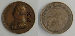 Medalla conmemorativa del asesinato de Carlos Fernando de Artois, duque de Berry