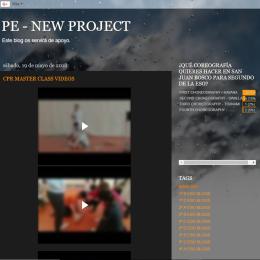 PE - New Project: Educación Física en inglés