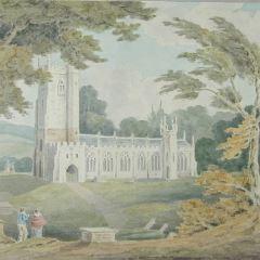 Paisaje con iglesia (Inglaterra)