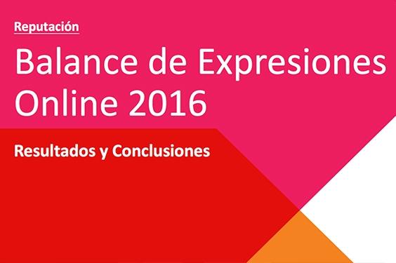 5.ª Edición del Balance de Expresiones Online