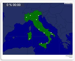 Italien: Städte. Seterra