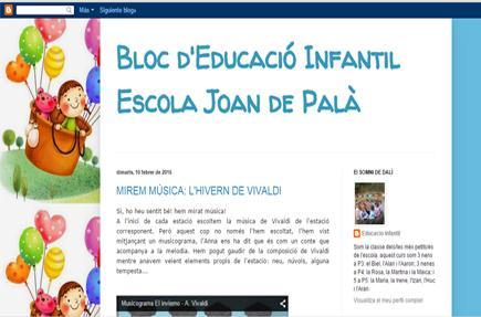 Bloc d'Educació Infantil Escola Joan de Palà