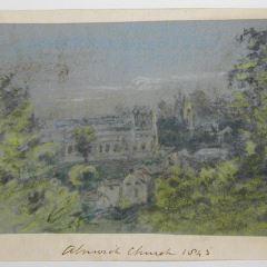 Vista de Alnwick, Inglaterrra