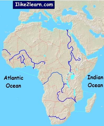 Lakes of Africa. Ilike2learn