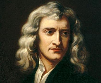 Retrato de Isaac Newton, 1689, Godfrey Kneller