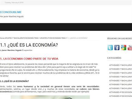 Econosublime