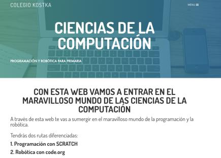RETO Scratch y CODE.org. Robótica y programación para PRIMARIA