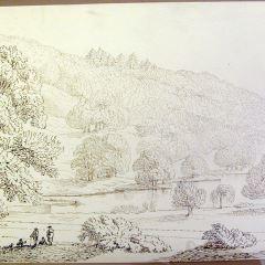 Paisaje montañoso. Valewood (Inglaterra)