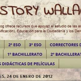 History Wallace: recursos didácticos para ESO