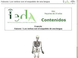 Faisons: Los verbos son el esqueleto de una lengua