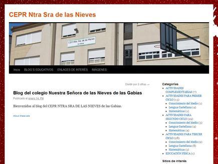 Blog del CEIP Ntra Sra de las Nieves