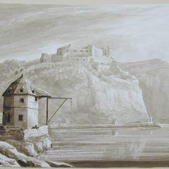 El castillo de Reinfels desde San Goar (Alemania)