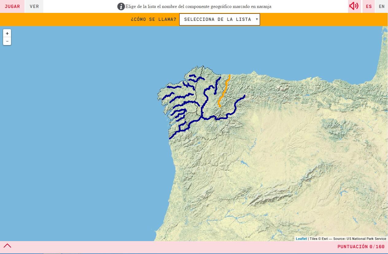Rius de Galícia