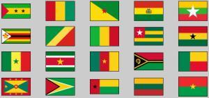 World countries flags 5. Lizard Point