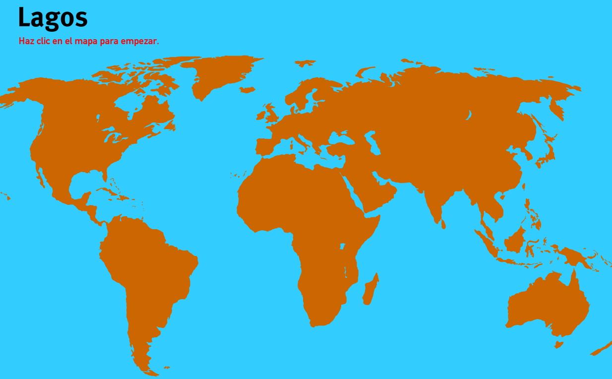 Lagos del Mundo. Juegos de Geografía