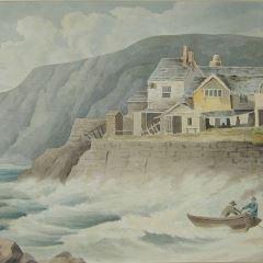 Edificio en la costa